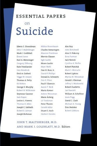 Essential Papers on Suicide (Essential Papers on Psychoanalysis)