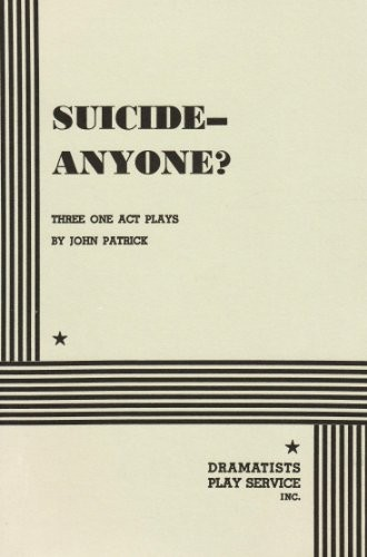 Suicide - Anyone?.