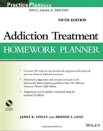 Addiction Treatment Homework Planner (PracticePlanners)